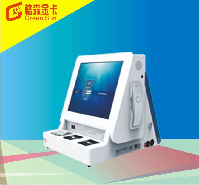 台式双屏访客机QL-FK17-SP1